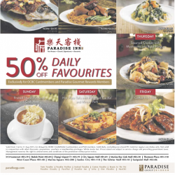 paradise lnn : 50% Off Daily Favourites
