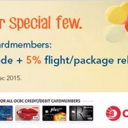 Zuji: 12% OFF Hotel Coupon Code & 5% Flight/Package Rebate --- exclusive to OCBC Card holders