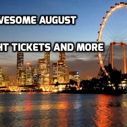 Singapore Flyer: SG50 Awesome August