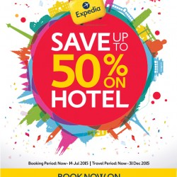 Expedia: SG50 Celebration Special --- up to 50% OFF
