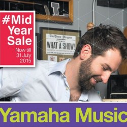 Yamaha Music Mid Year Sale started at all stores plus online exclusives