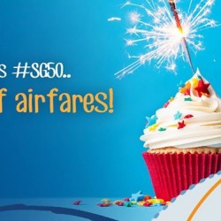 Zuji: birthday month and we are giving 50% off airfares + 13% off hotels!