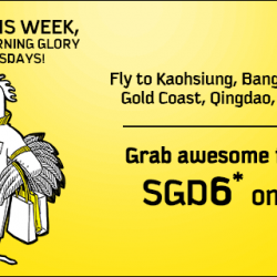 FlyScoot: Awesome Fares from SGD6 Onwards