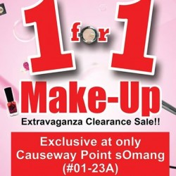 Somang: 1 For 1 Make-Up Sales