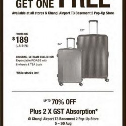 The Planet Traveller: Buy 1 Get 1 Free Promotion