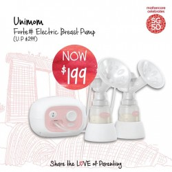 mothercare: Unimom Forte Electric Breast Pump $199 (U.P. $299)