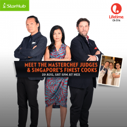 StarHub: Mastechef Judges & Singapore's Finest Cooks