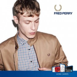 UOB Cards: Sharpen your look with 15% off regular-priced items @Fred Perry