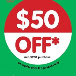 Early learning Centre: $50 off Minimum Purchase of $250