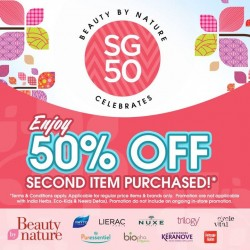Beauty By Nature: 50% OFF Second Item Purchased