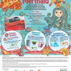 A Splashing Good Time with The Little Mermaid @ United Square