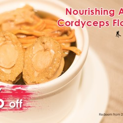 Dian Xiao Er: 50% off Abalone with Cordyceps Flower Soup