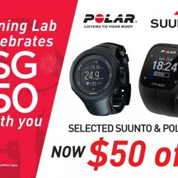 Running Lab: Select POLAR & Suunto Ambit @ $50