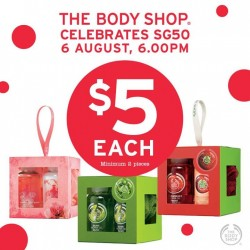 The Body Shop: $5 Each Minimum 2 pcs