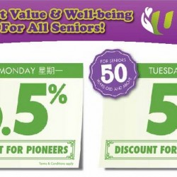 Unity: Special Discount for Pioneers and Seniors