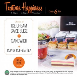 Earle Swensen's: Ice Cream Cake Slice or Sandwich + Cup of Coffee/Tea at $6.90