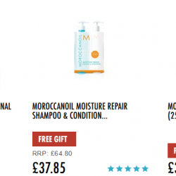 HqHair: Offers 20% off Moroccanoil