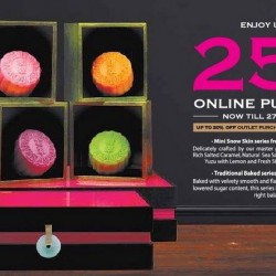 Crystal Jade: Mid-Autumn Heavenly Indulgence --- DBS/POSB Cardmembers enjoy up to 25% OFF Online Purchase