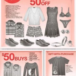Takashimaya: SG50 Special --- 50% OFF and S$50 Buys