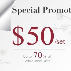 Aimer: special promotion! Only at $50/set @get up to 70% off