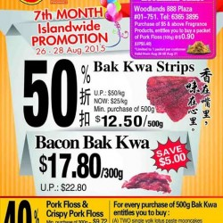 Fragrance Foodstuff: 7th Month Islandwide Promotion @50% Off
