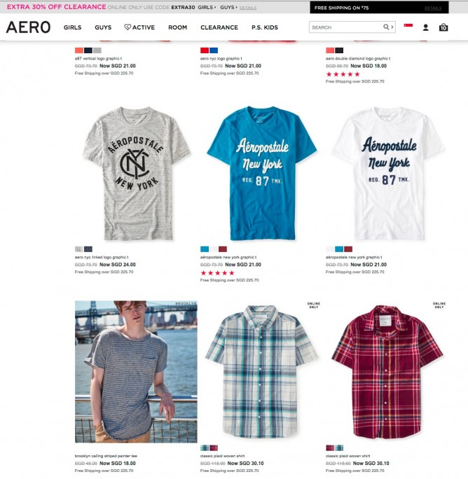 Banners_and_Alerts_and_Clearance_-_FEATURES_-_Aeropostale