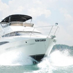 Deal.com.sg: Luxury Yacht Charter at Marina Keppel Bay for Up to 22 Pax