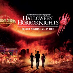 Universal Studios Singapore: Halloween Horror Nights 2015 --- buy 3 get 1 free early bird promotion