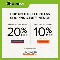 Lazada: discount voucher codes @ get up to 20% OFF