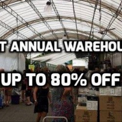 Sia Huat: Annual Warehouse Sale 2016 up to 80% OFF Tableware & Kitchenware