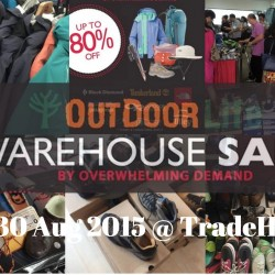 Outdoor Life: Warehouse Sale with discounts up to 80% off