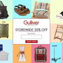 Gulliver via Rakuten: 35% OFF Storewide Coupon Code