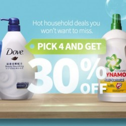 RedMart: Pick 4 and Get 30% OFF!