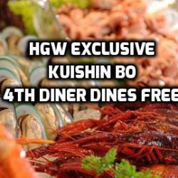 Hungrygowhere: 4th diner dines FREE at Kuishin Bo