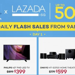 Audio House: Daily Flash Sales on Lazada.sg up to 50% off