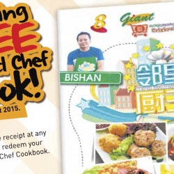 Giant: Exclusive Free Neighbourhood Chef Cookbook and Launch Event