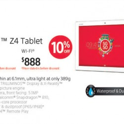 Sony Singapore: Xperia™ Z4 Tablet SG50 Promotion
