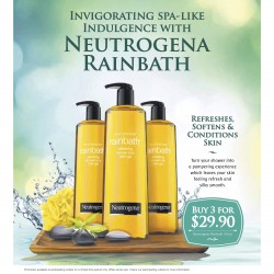 Neutrogena Rainbath: Buy 3 for $29.90