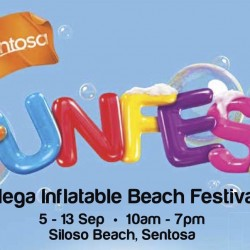 Sentosa: Mega Inflatable Beach Festival at Siloso Beach