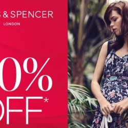 Marks and Spencer: 30% off All Dresses & more!