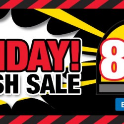 Courts: Friday Flash Sale! Up to 80% OFF
