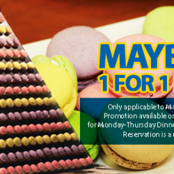Todai: 1-for-1 or 20% off International Buffet for Maybank Cardmembers