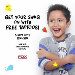 Fox Fashion: FREE Stick-on Tattoos @ FOX Kids