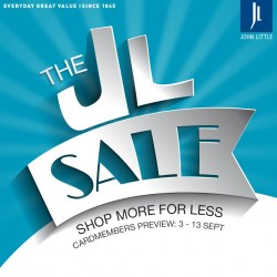 John Little Sale: Up to 80% off Sale Items + 20% off Regular-priced Items