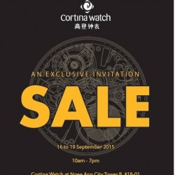 Cortina Watch: Private Sale with up to 70% Discount