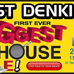 Best Denki: First Ever Biggest Warehouse Carnival Sale up to 80% OFF
