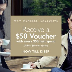 G2000: Receive a $50 voucher with every $50 or $80 nett spend!