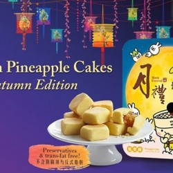Resorts World at Sentosa: Taiwan Pineapple Cakes @$23.80