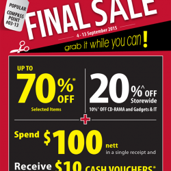 Popular Book Company: Final Sale @70% OFF on Selected items