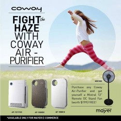 Mayer Marketing: Fight the Haze with Coway Air - Purifier